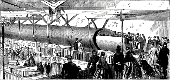 NY Pneumatic Train 1880s