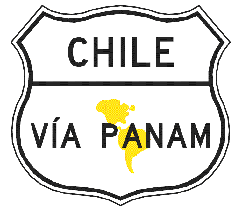 designated sign for the Pan-American Highway