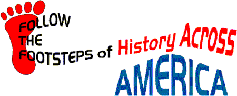 Follow the Footsteps of History Across America logo